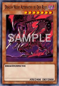 Dragón Negro Alternativo De Ojos Rojos Detalles De Carta Yu Gi Oh Juego De Cartas Coleccionables Base De Datos De Cartas